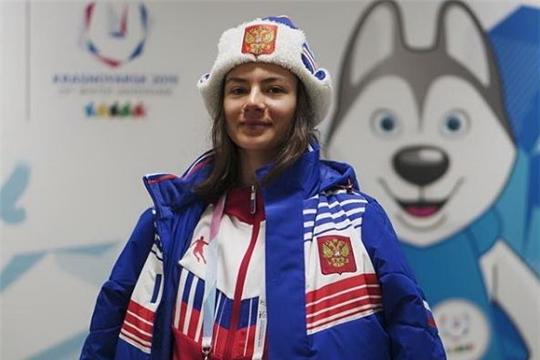 Фристайлистка из Чувашии Лана Прусакова завоевала «золото» Всемирной зимней Универсиады в слоуп-стайле.