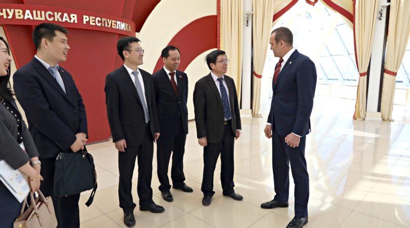 Чувашию посетила делегация Посольства Китайской Народной Республики