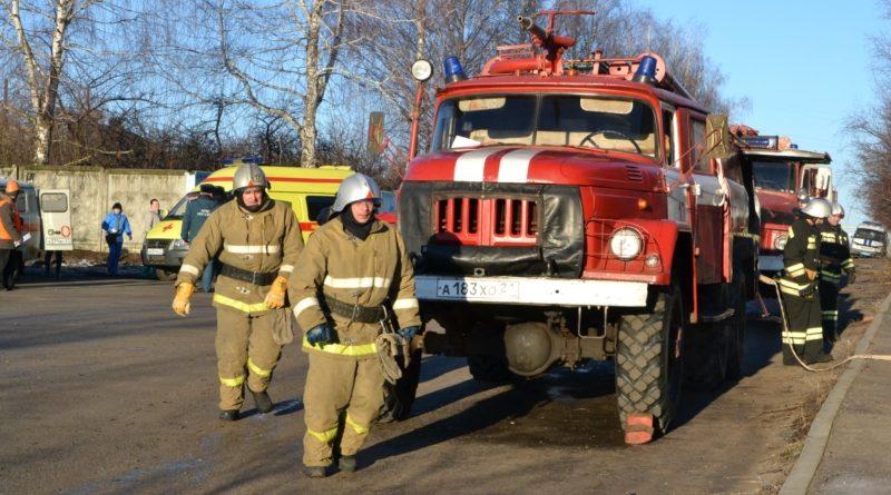 ППожарная охрана отмечает юбилей