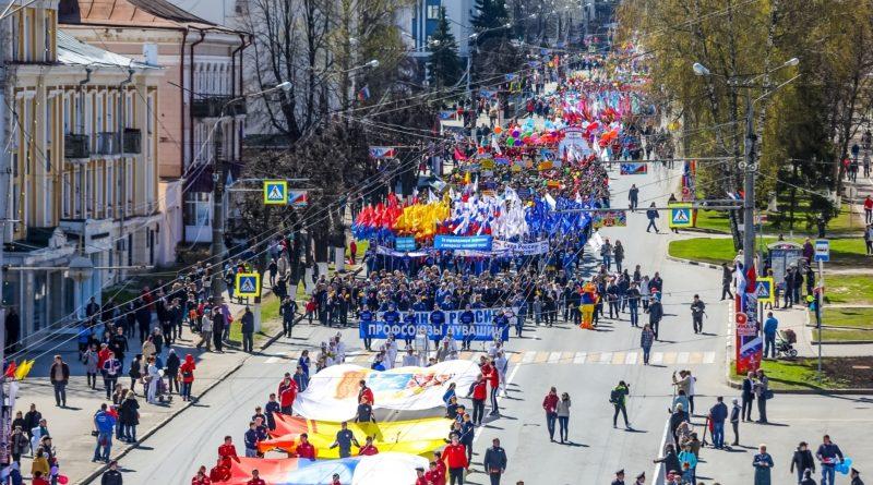 Свыше 47 тысяч жителей республики приняли участие в праздничных первомайских мероприятиях