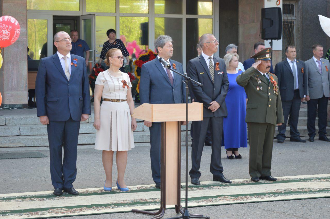 Алатырцы присоединились к празднованию Дня Победы 4