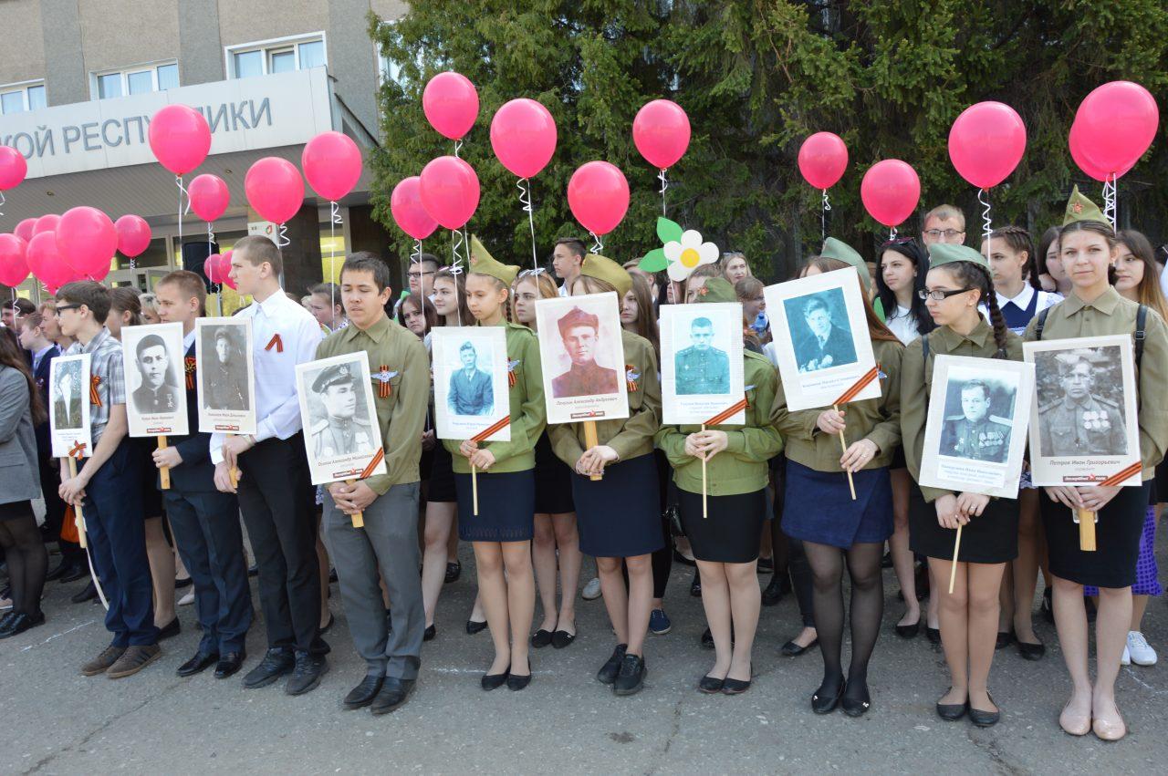 Алатырцы присоединились к празднованию Дня Победы 6