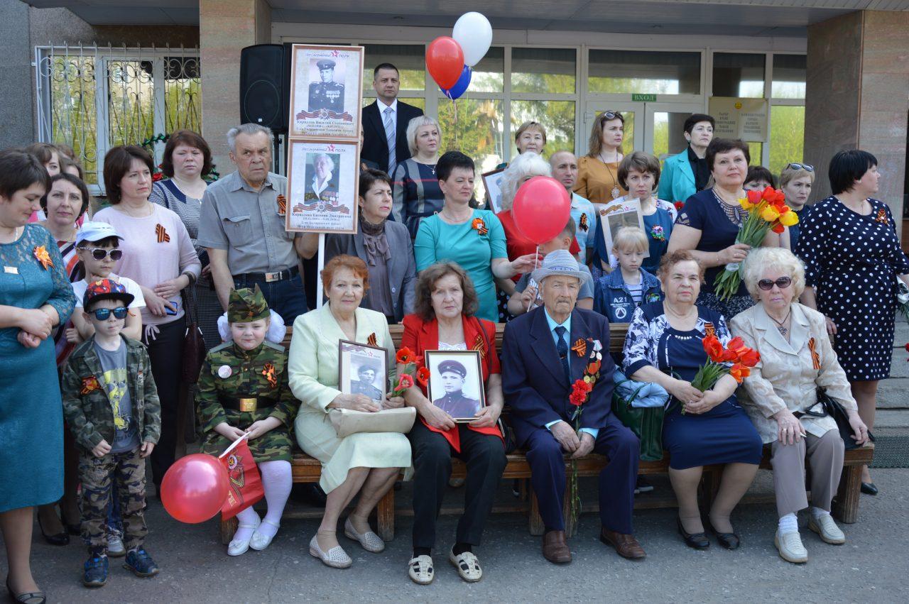Алатырцы присоединились к празднованию Дня Победы 10
