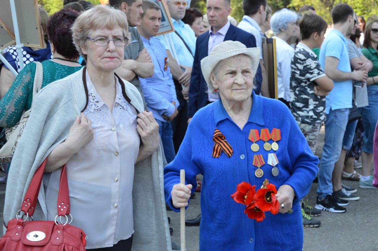 Алатырцы присоединились к празднованию Дня Победы 8