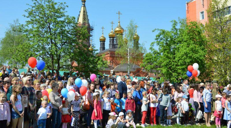 Алатырцы присоединились к празднованию Дня Победы 14