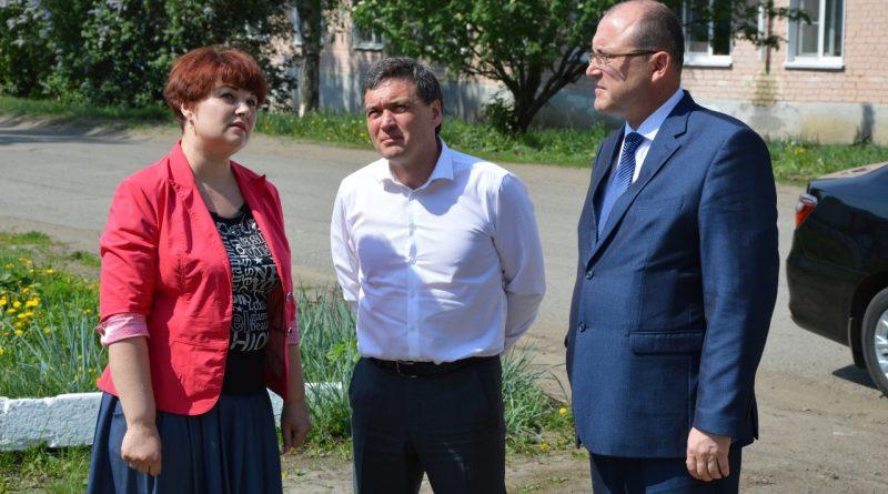 Алатырь и Алатырский район посетил Председатель Кабинета Министров Чувашии Иван Моторин