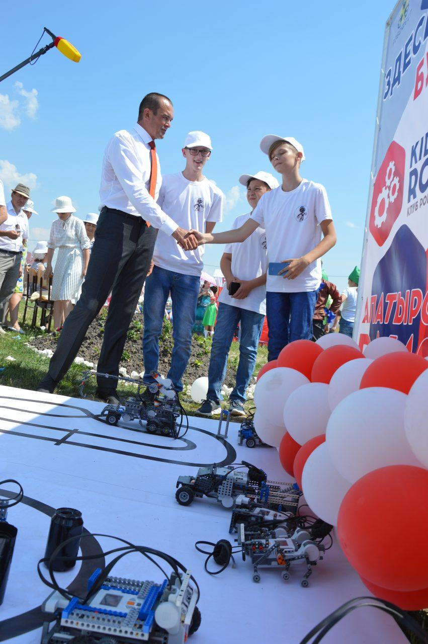 В Алатырском районе открылся Этнографический парк