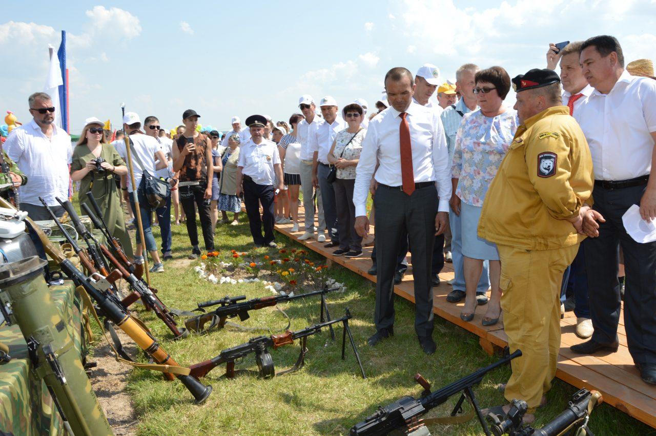 В Алатырском районе открылся Этнографический парк 6