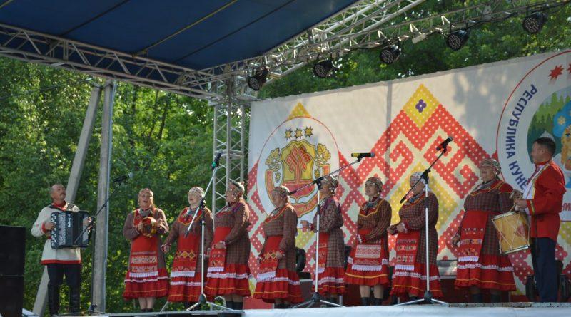 В Алатырском районе открыт 60-й Праздник Песни, Труда и Спорта «Акатуй-2019»