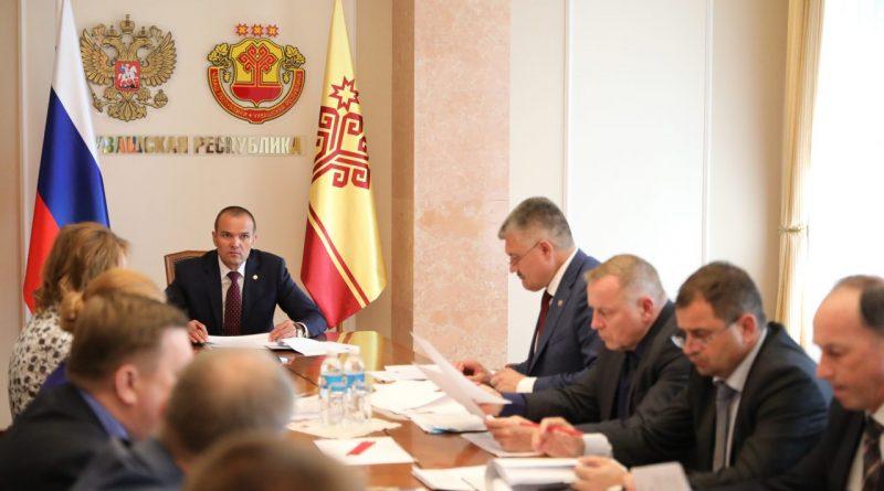 Глава Чувашии Михаил Игнатьев принял участие в заседании Совета при Президенте России по стратегическому развитию и национальным проектам