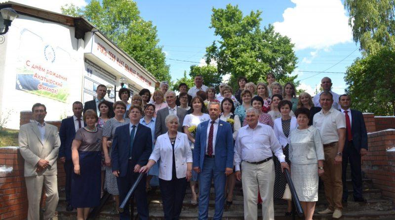 Алатырский филиал ЧГУ отметил 25-летие
