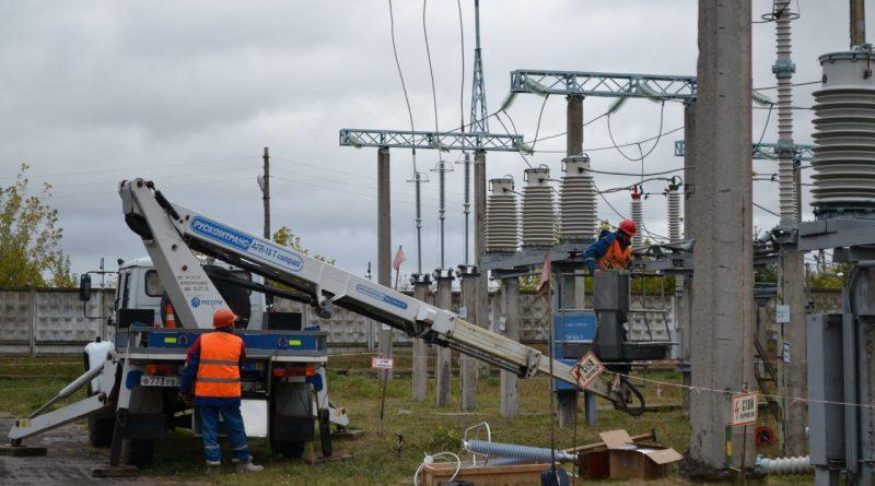 Чувашские энергетики работают не покладая рук