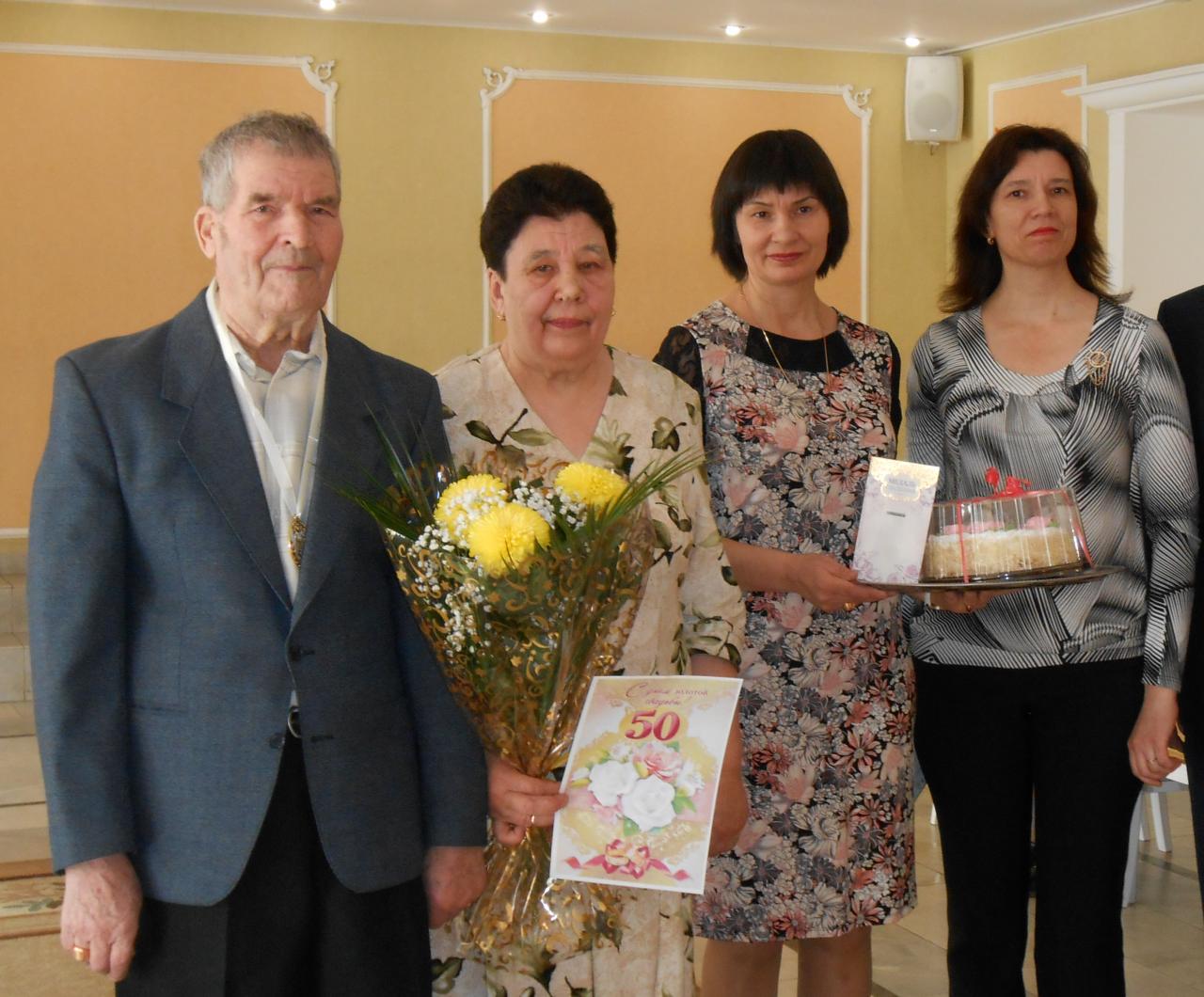 """Супружеские пары из Алатыря и Алатырского района награждены орденом """"За любовь и верность"""" 3"""