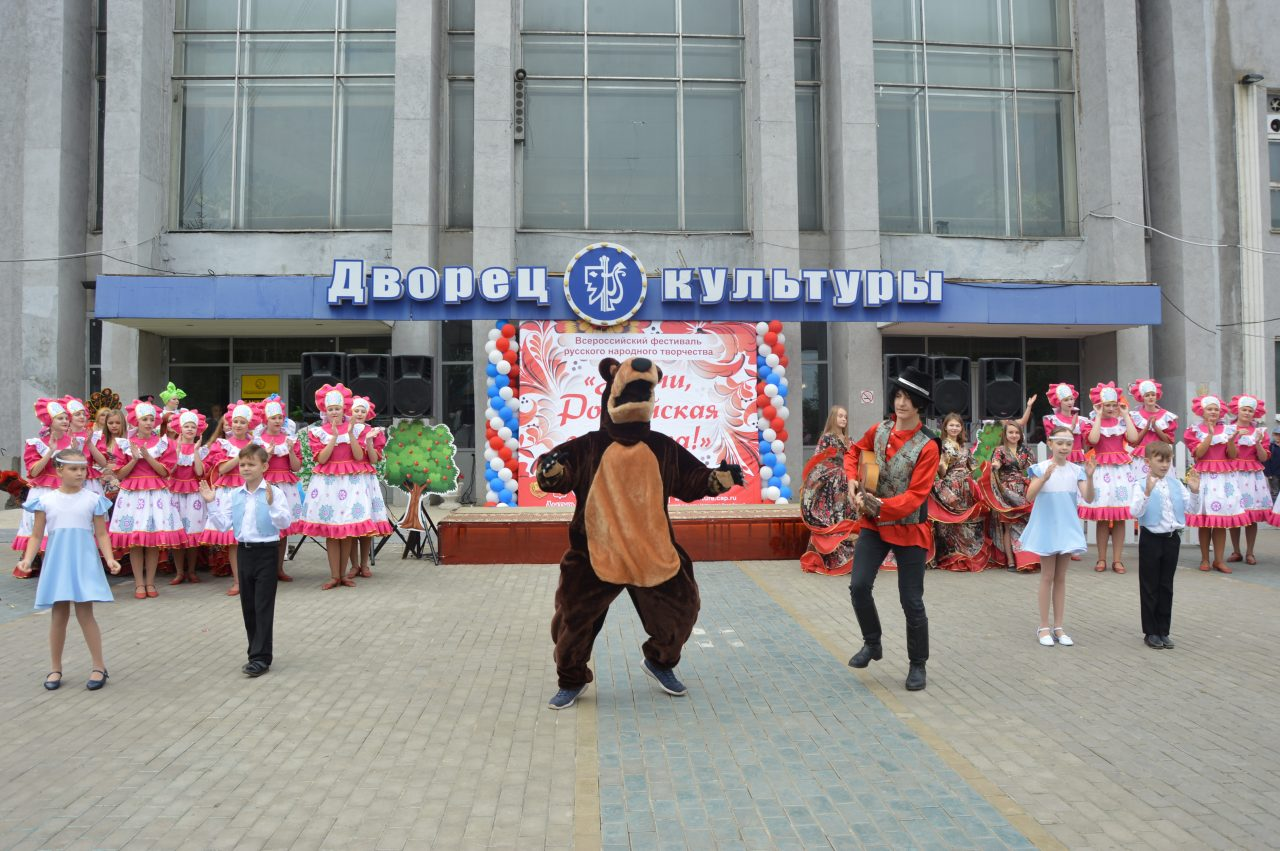 Жители Алатыря и его гости отмечают День рождения города 1