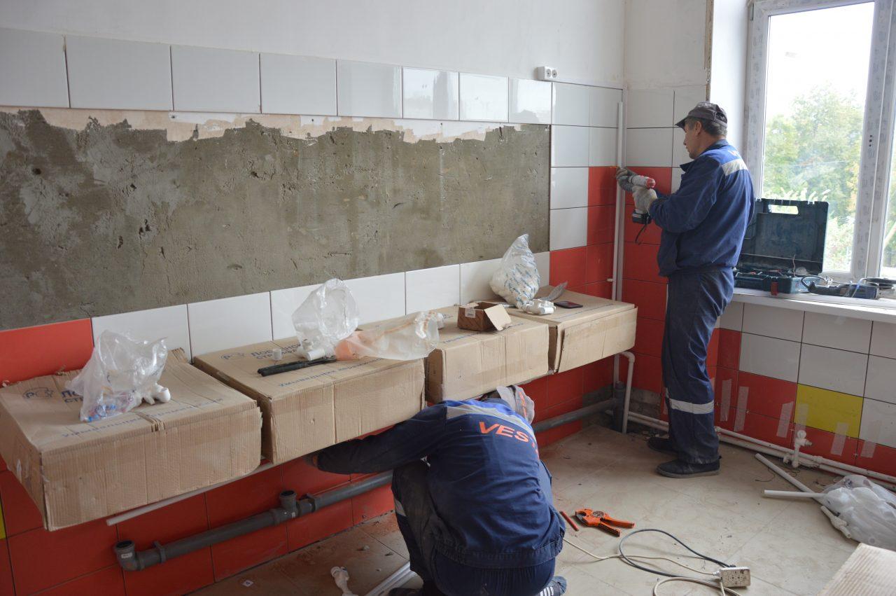 Ремонт школы № 11 г. Алатыря выходит на финишную прямую