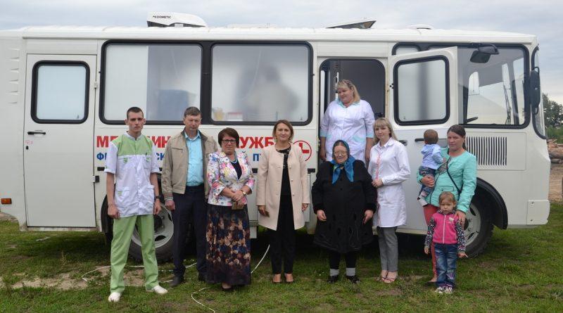В Алатырском районе вышел в свой первый рейс мобильный ФАП 1