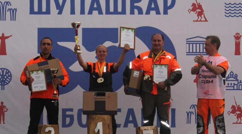 Представитель Алатырского лесничества вошел в число лучших лесорубов республики