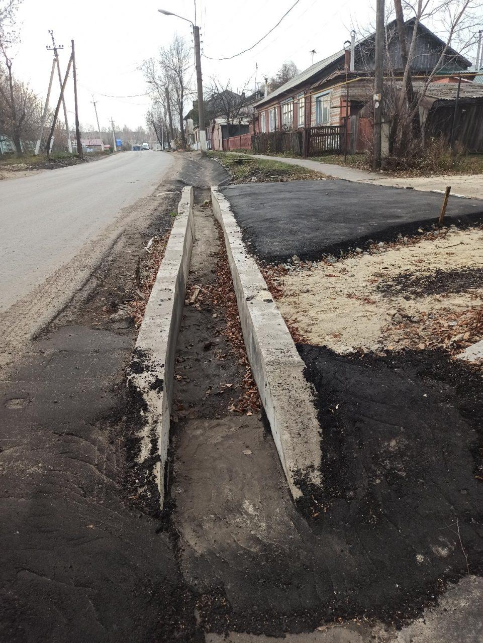 Жители Стрелки ждут завершения ремонта дороги 1
