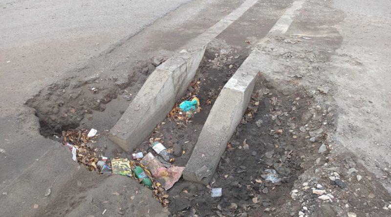Жители Стрелки ждут завершения ремонта дороги