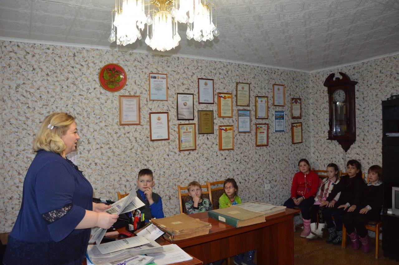 В среду воспитанники Алатырского социально-реабилитационного центра побывали на экскурсии в редакции газеты «Алатырские вести» 2