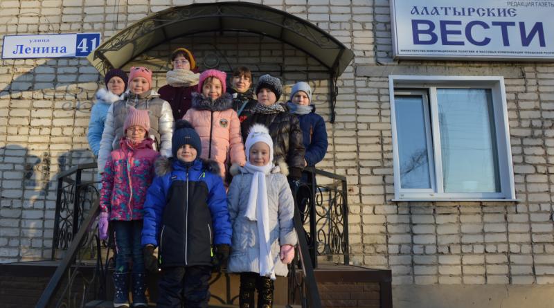 В среду воспитанники Алатырского социально-реабилитационного центра побывали на экскурсии в редакции газеты «Алатырские вести»