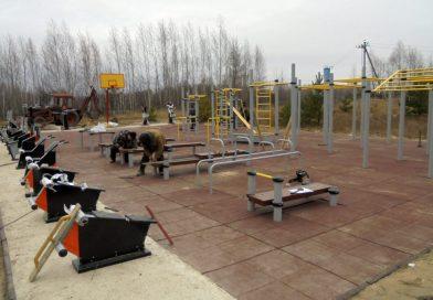 Площадка для ГТО почти готова