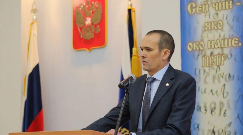 Глава Чувашии Михаил Игнатьев принял участие в мероприятии, посвященном Дню работника прокуратуры