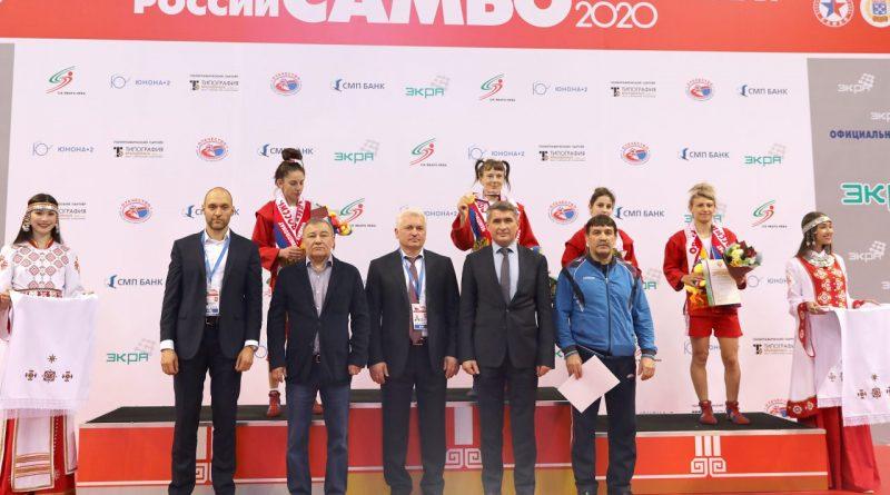 В Чувашии состоялась торжественная церемония открытия чемпионата России по самбо