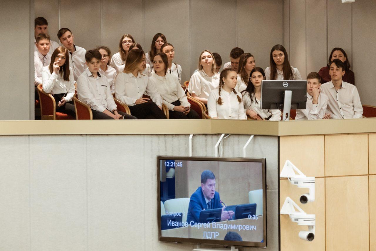 """Школьники из Алатыря попали в эфир первого канала, став участниками передачи """"Доброе утро"""" 2"""