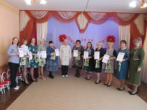 В МБДОУ «Детский сад № 1 «Теремок» завершился конкурс профессионального мастерства «Воспитатель года – 2020»