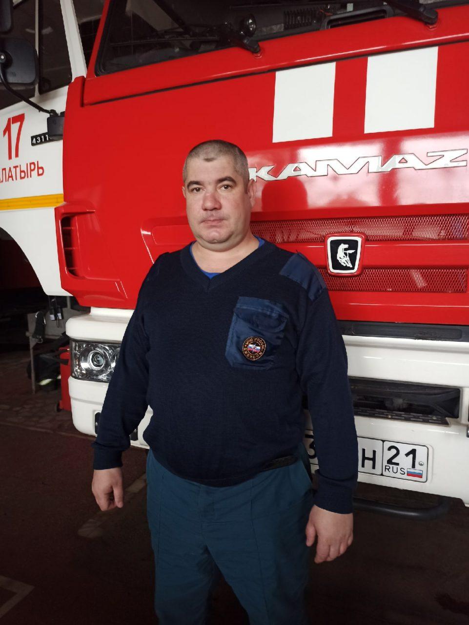 Свой профессиональный праздник отмечают сотрудники 17 пожарно-спасательной части