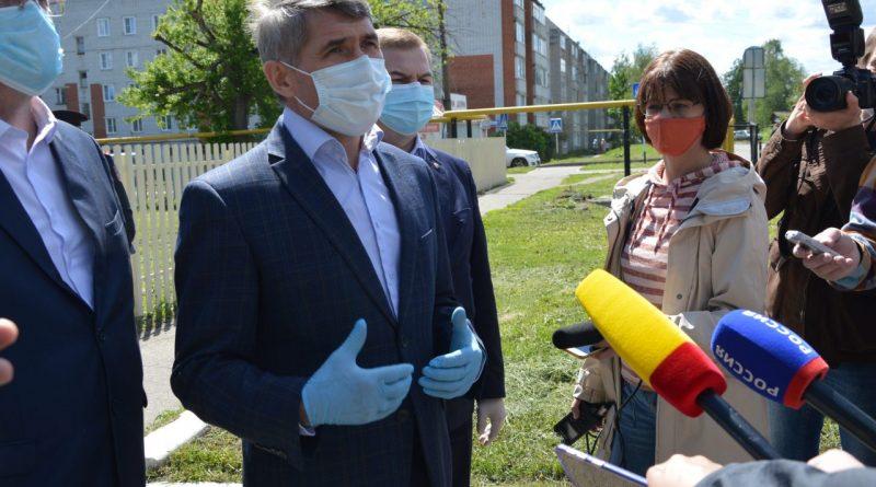 Олег Николаев посетил с рабочим визитом Алатырь и Алатырский район 4