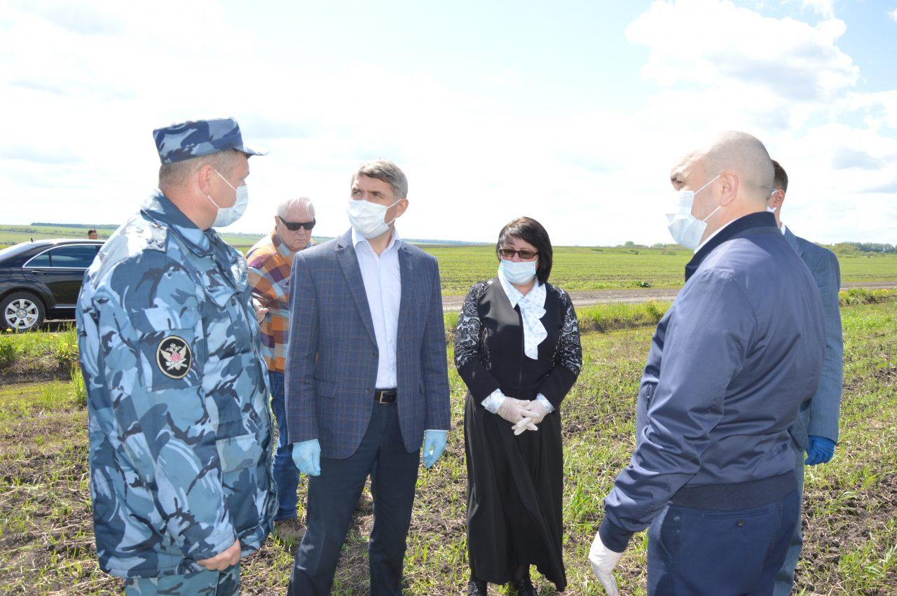 Олег Николаев посетил с рабочим визитом Алатырь и Алатырский район 1
