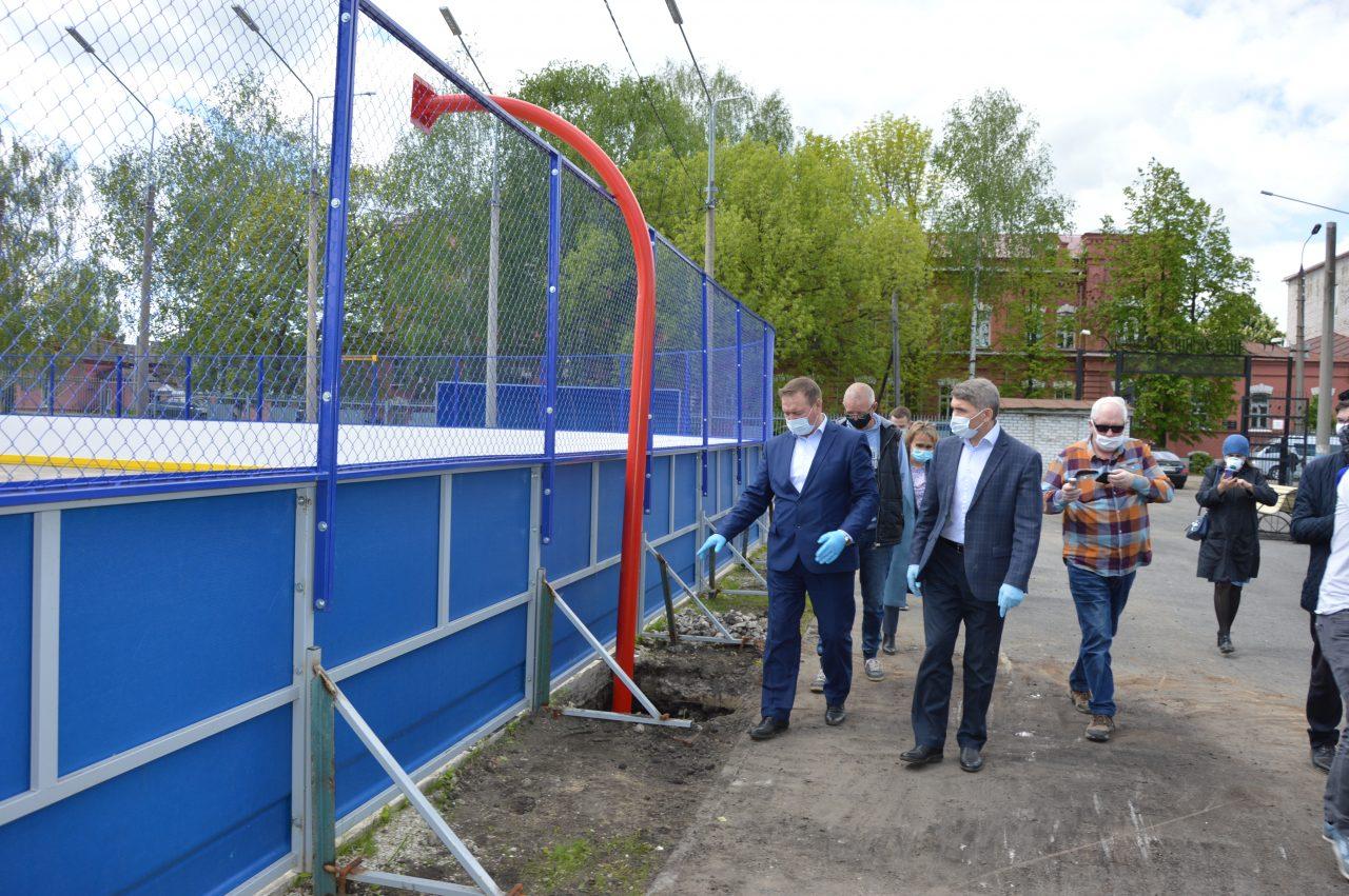 Олег Николаев посетил с рабочим визитом Алатырь и Алатырский район 3