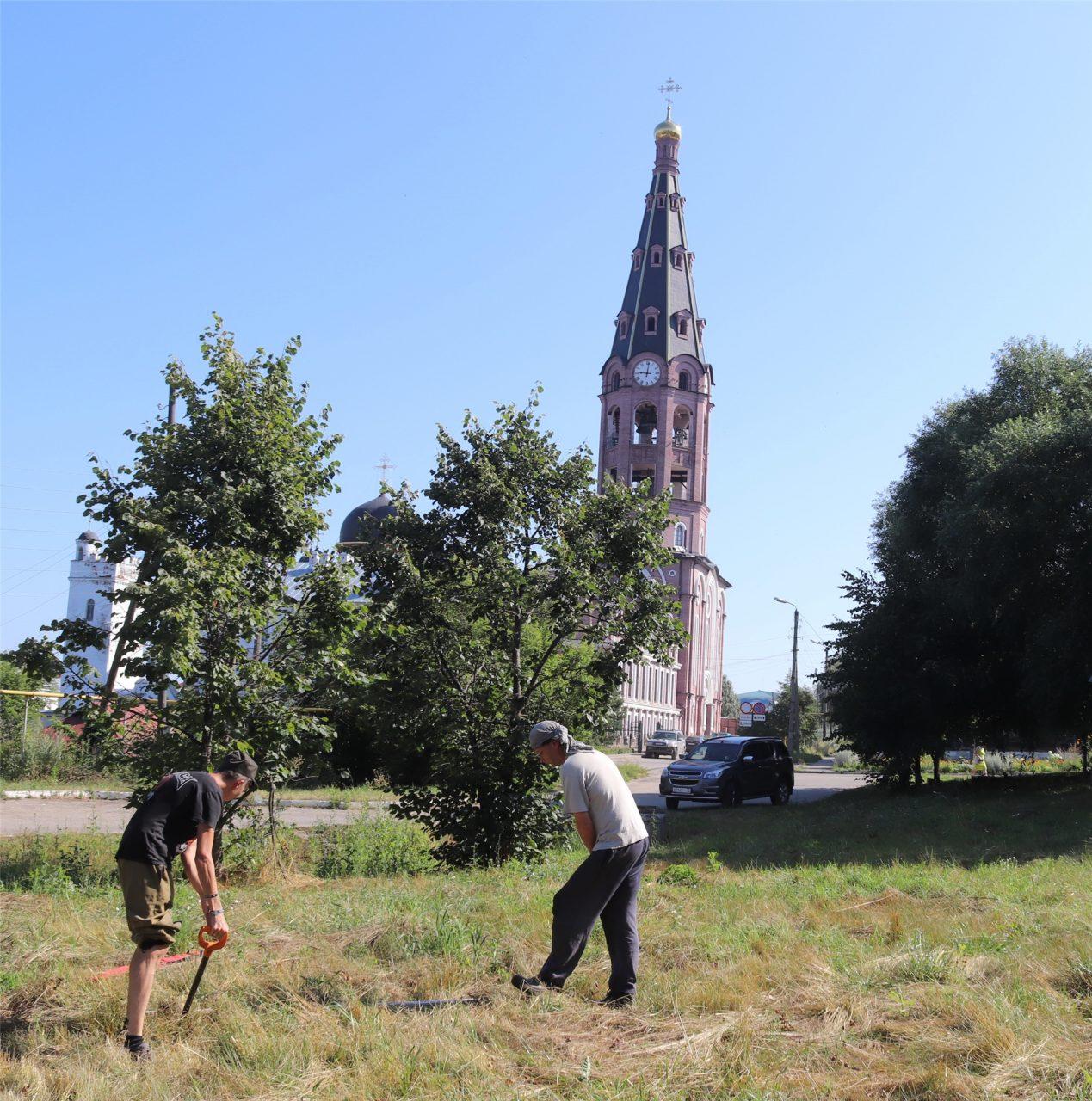 В исторической части Алатыря вновь ведутся археологические работы 1