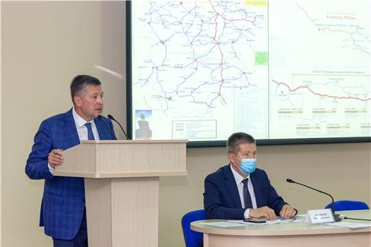 Министерств транспорта и дорожного хозяйства Чувашии подвели итоги дорожно-транспортной отрасли и обсудили Комплексную программу социально-экономического развития Чувашской Республики