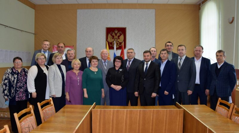 Состоялось первое заседание Собрания депутатов Алатырского района VII созыва