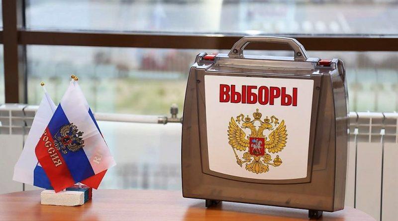 Многодетная мама Анжелика Ерзукова проголосовала в селе Новые Айбеси