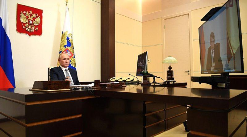 Владимир Путин положительно оценил шаги врио Главы Чувашии по поддержке экономики в период пандемии