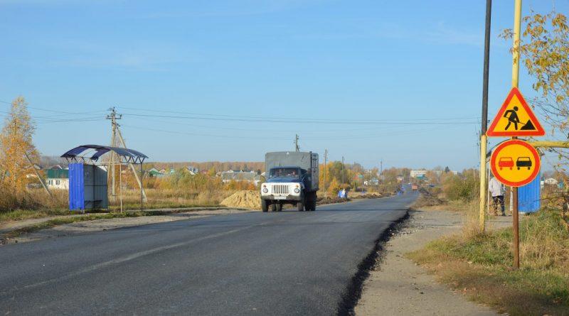 В Алатыре обновилась дорога по улице Южная в рамках шестого этапа строительства подъездных путей к индустриальному парку