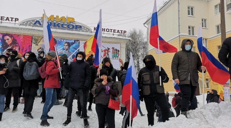 Протест ради протеста: участники митинга в Чебоксарах не смогли объяснить, за что выступают
