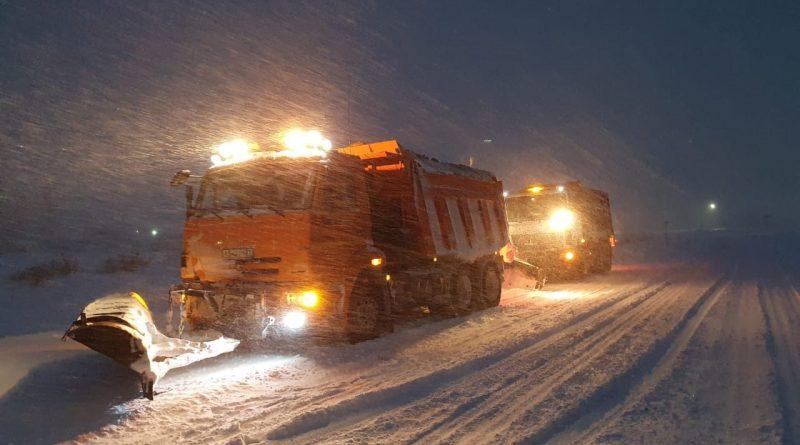 Дорожники Чувашии вышли на борьбу с последствиями сильнейшего снегопада