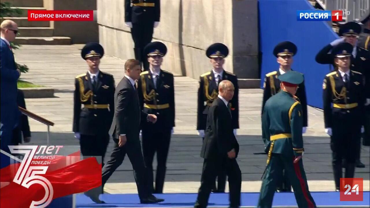 Уроженец Алатырского района стал участником юбилейного Парада Победы на Красной площади