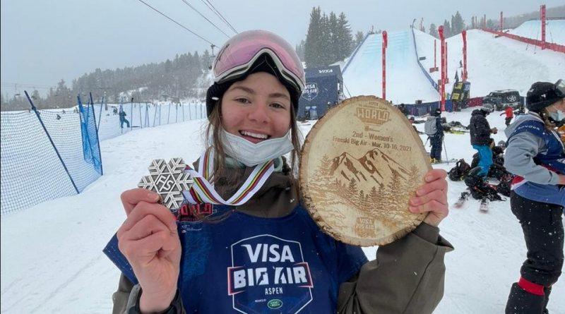 Лана Прусакова завоевала титул вице-чемпионки мира по фристайлу