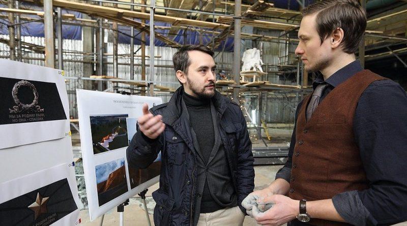 Автора мемориала строителям оборонительных рубежей вдохновляют подвиги деда 7