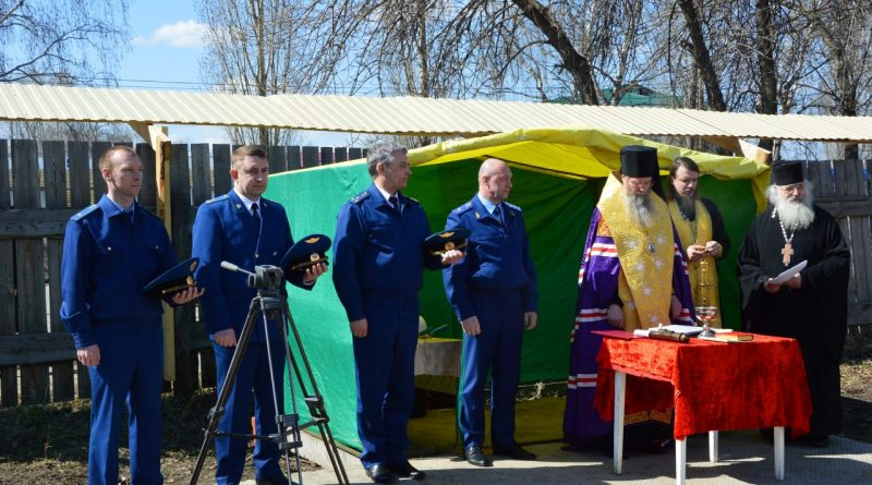 Торжественная церемония закладки капсулы с посланием потомкам