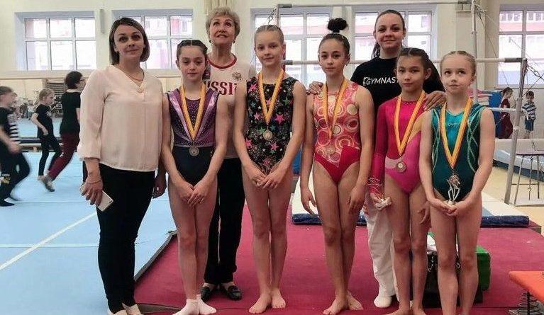 Наши гимнастки – одни из лучших в республике