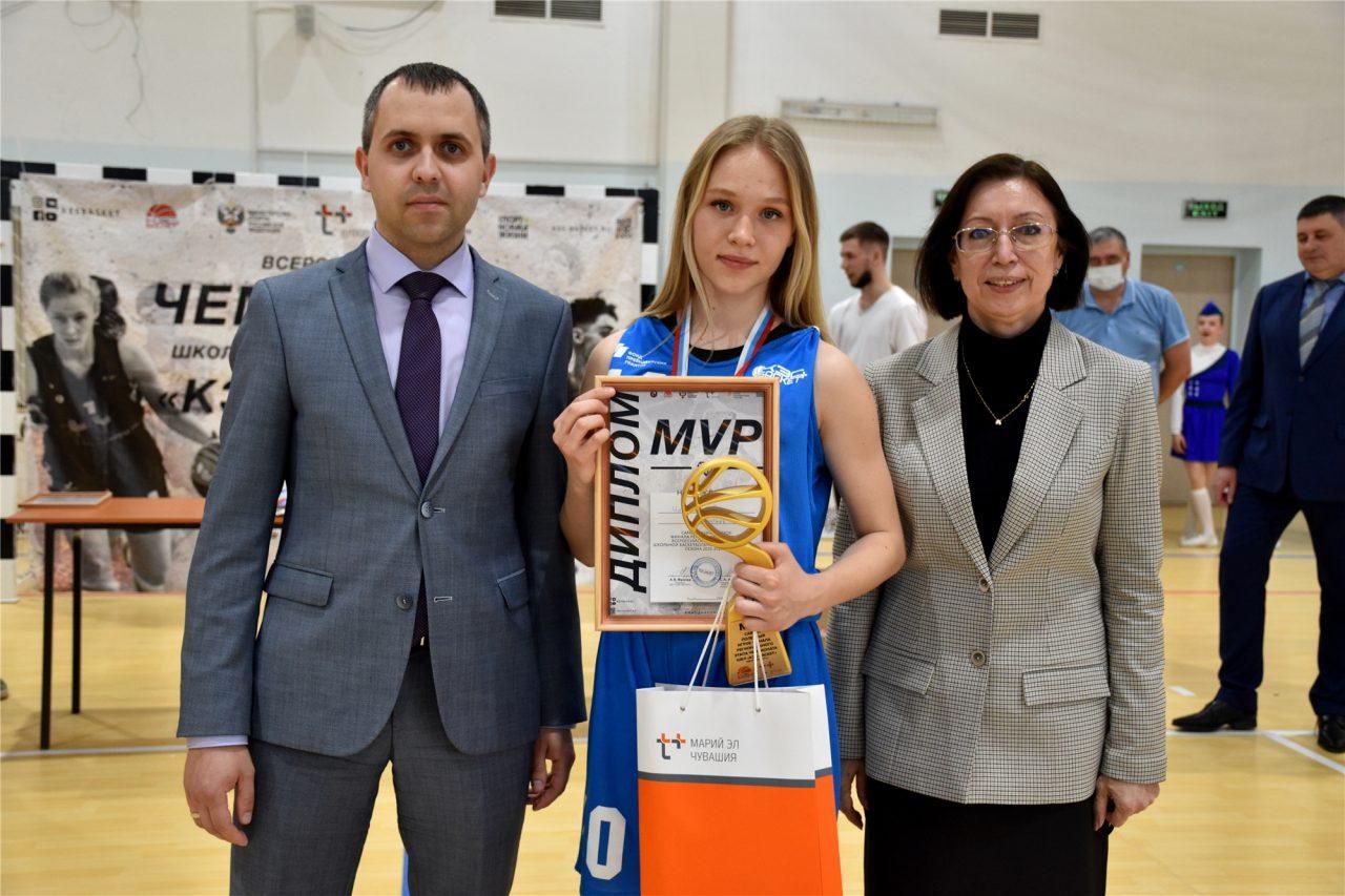 Главный трофей республиканского Чемпионата школьной баскетбольной лиги «КЭС-БАСКЕТ» вновь остался в Алатыре! 1