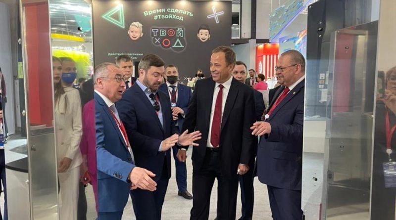 Работа Полномочного представителя Президента РФ в ПФО Игоря Комарова на ПМЭФ-2021
