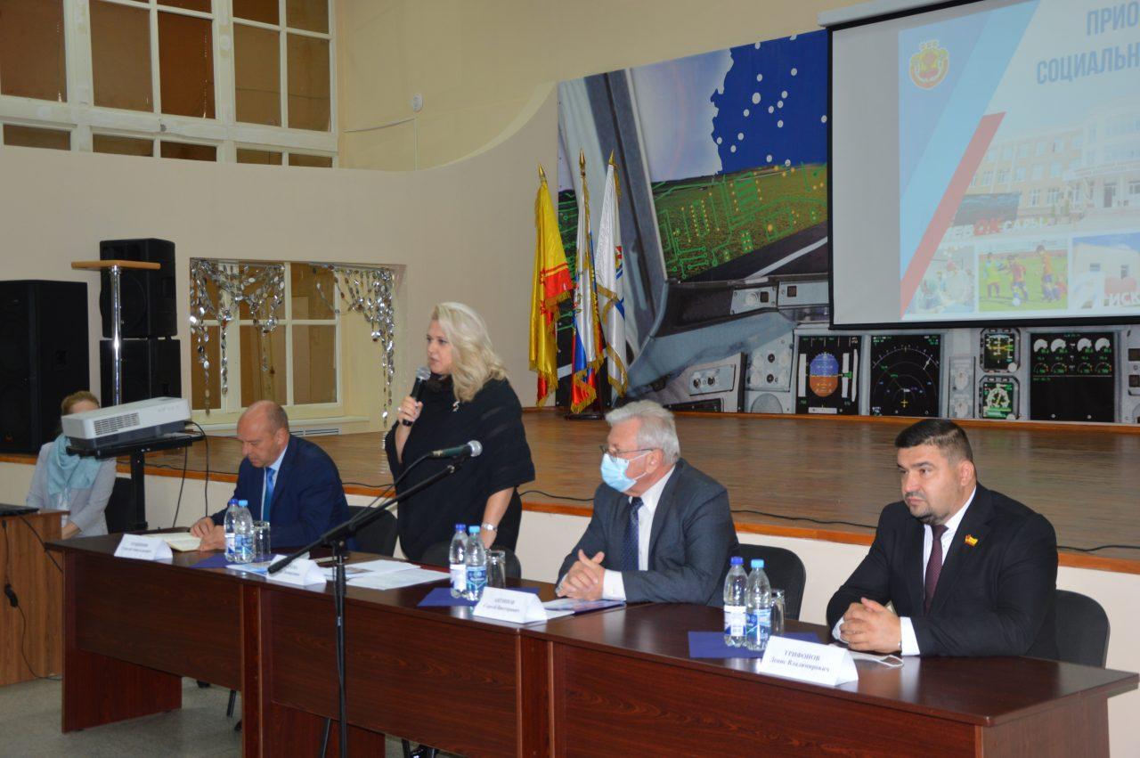 Заместитель Председателя Кабинета Министров Чувашской Республики Алла Салаева посетила АО «Завод «Электроприбор» 1
